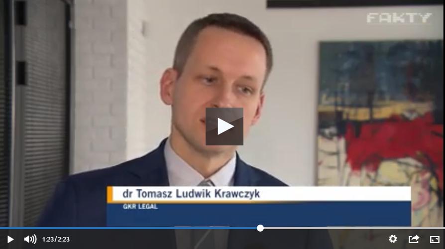 Tomasz Ludwik Krawczyk dla Fakty TVN